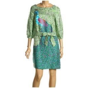 Lilly Pulitzer Sandpiper peacock dress
